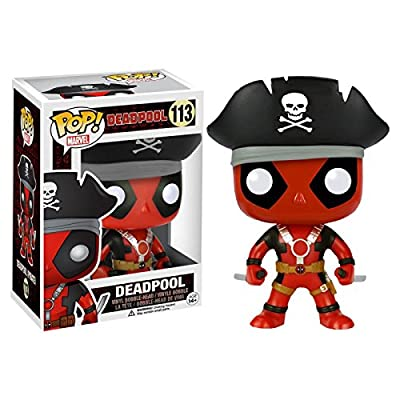 Funko - Figurine Marvel - Deadpool Pirate Exclusive Pop 10cm - 0849803074906