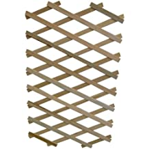 Apollo Expanding Wooden Trellis with Robust Plant Support