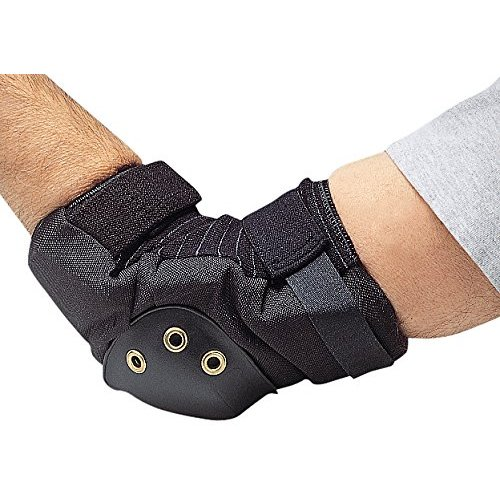 Allegro Industries 7104 Deluxe Elbow Pad, Pair, One Size, Black
