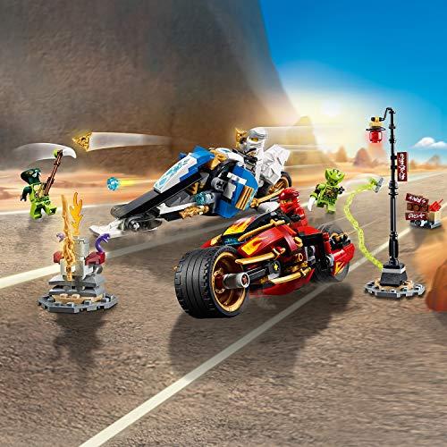 LEGO NINJAGO - La moto de Kai et le scooter des neiges de Zane - 70667 - Jeu de construction