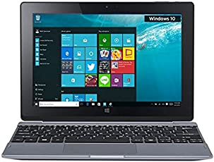 (Certified REFURBISHED) Acer S1002-15XR 10.1-inch Laptop ( Atom Z3735F/2GB/32GB/Windows 10/Integrated Graphics), Dark Silver