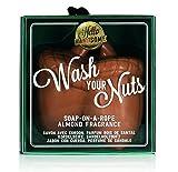 NPW uomo novità saponetta-Hello Handsome lavare le noccioline sapone su una corda per gli uomini