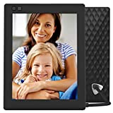 NIXPLAY Seed Digital Photo Frame WiFi 8 inch W08D, Black. Show Pictures on