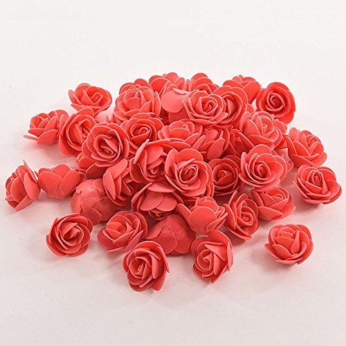 Unbekannt Künstliche Blüten Handgefertigt DIY Hochzeit Home Dekoration Kunstblumen Rose