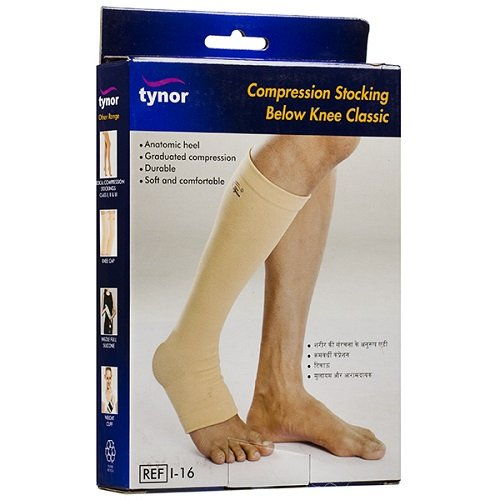 Tynor Compression Below Knee Stocking - Small
