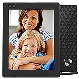 Nixplay tohumu–WiFi dijital fotoğraf çerçevesi. 8 Zoll Siyah W08D - Black
