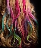 Legend Haarkreide Temporäre Haarfarbe Set Pastellfarben - Verschiedene
