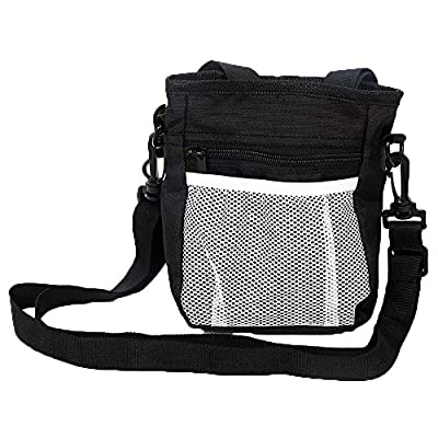 Yangyme Pet home Dog Treat Pouch Bag Training, Waist Pouch Poop Bags Dispenser Pet Snack, Food, Toys, Portable Puppy Outdoor Training Walking Bag?Three Ways to Wear? from Yangyme