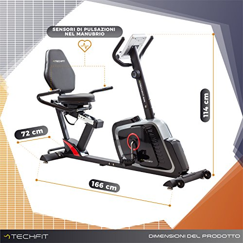 Zoom IMG-3 techfit r470 cyclette orizzontale recumbent