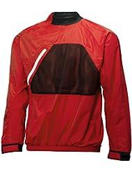 Helly Hansen Jr Dinghy Smock Top - Chaqueta infantil, color rojo, talla 12