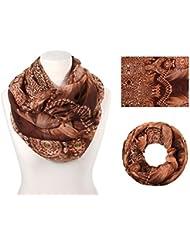 Alsino Loop Schal 15 Modelle zur Auswahl 2015 Kollektion Herbst Winter Schal Schlauchschal für Damen Maße 70 x 180 cm Rundschal moderne Farben Halstuch Damenschal Muster