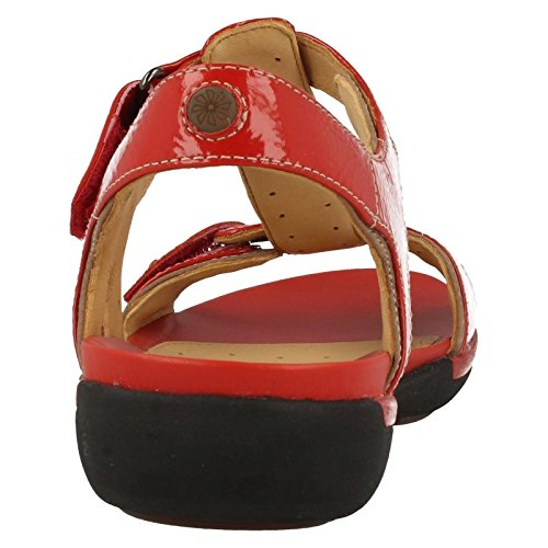 Clarks Un Voshell Sandale rot Rot