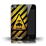 Coque de Stuff4 / Coque pour Apple iPod Touch 5 / Poison Design / Signes de Danger Collection