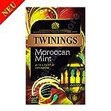 Twinings Moroccan Mint 20 Tea Bags 40g - Grüner Tee mit Minze, und Kardamom Flavour