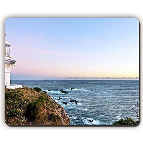 high quality mouse pad,lighthouse storm sea sky hdr,Game Office MousePad size:260x210x3mm(10.2x 8.2inch)