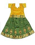 Kanakadara Self Design Girl's Lehenga Choli( Size : 7-8 Years )