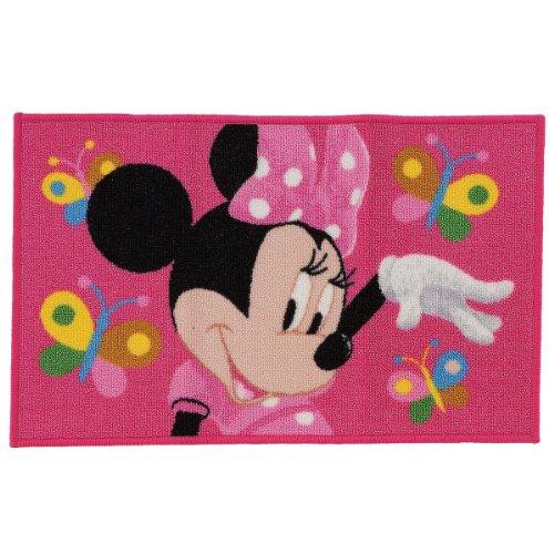 Disney Disney Minnie Mouse Alfombra Alfombra de juegos, color rosa