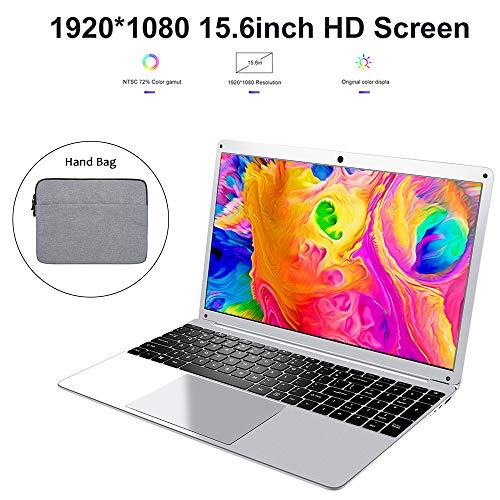 LHMZNIY Yepbook, Ordinateur de Poche ROM 15.6 Pouces Intel Atom X5-E8000 Quad Core 4G de RAM 64G de ROM avec Clavier numérique, Bloc-Notes Mince et léger