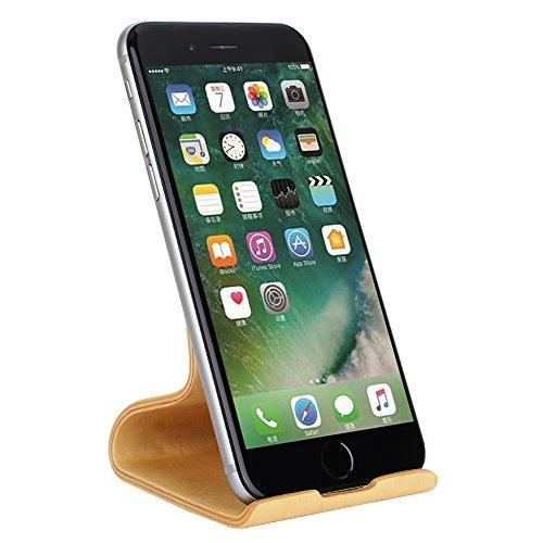 Eiche Wiege (Handy Halterung,SAMDI iPhone Dock : Handyhalterung, Handy Halter, Phone Ständer, Handy Ständer für iPhone X, 8, 8Plus, 7, 7Plus, 6s 6Plus, Samsung S8, Huawei P8 P9 P10 / Lite, Honor 6X, 8)