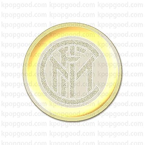 24K Vergoldet Inter Milan Serie ein Emblem Handy Aufkleber