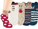 Vitasox 22113 Kinder Socken Kuschelsocken Kindersocken Uni Ringel Tiermotiv 3D bunt weich und soft rot/weiß 2er Set 19/22