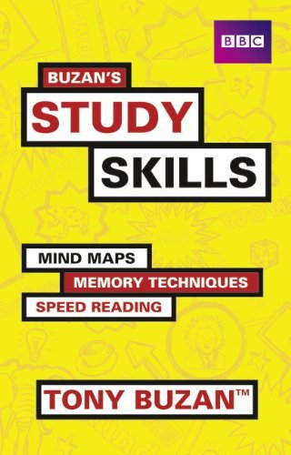 Buzan's Study Skills: Mind Maps, Memory Techniques, Speed Reading and More! (Mind Set) by Tony Buzan (2011-07-13)