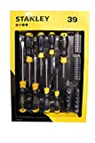 Stanley 39 Piece Cushion Grip Screwdriver and Socket Set Flat/Phillips STHT62291-0