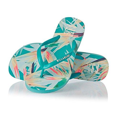 Billabong Flip Flops - Billabong Dama Flip Flops - Beach Blue Blue