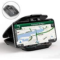 Cocoda Supporto Auto Smartphone, Porta Cellulare Auto per Cruscotto Facile Apertura e Pieghevole Compatibile con Telefoni Cellulari da 3,5'' a 6,5'' e Altro