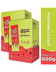 Yogabar Breakfast Protein Apple Cinnamon Bars - (300gm6 x