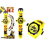 Rvold 24 Images Projector Kid's Digital Toy Watch - Minions