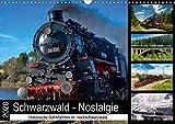 Schwarzwald-Nostalgie (Wandkalender 2020 DIN A3 quer): Historische Dampfzugfahrten im Süd-Schwarzwald (Monatskalender, 14 Seiten ) (CALVENDO Technologie)