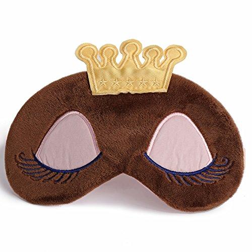 ske Augenklappe Soft Ice Pack Eye Maske für Bedtime & Travel, Kühl/Warm Therapie, geschwollene Augen und Augenringe (Ebene-maske)