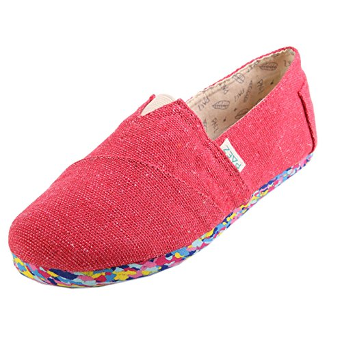 Paez Original Womens Multicolor Carmin Rouge