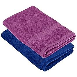Homely 420 GSM 2-Piece Cotton Bath Towel Set