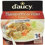 d'aucy Blanquette de Veau/Son Riz 285 g - Lot de 4