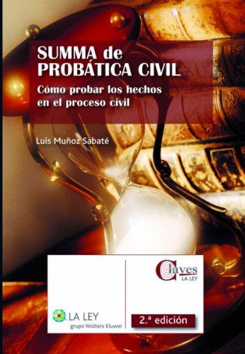 Summa de probática civil (Claves La Ley) por Lluis Muñoz Sabaté