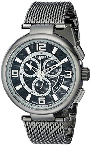 Akribos XXIV Reloj con movimiento cuarzo suizo Man AK772BK 44 mm