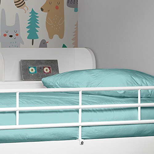 Happy Beds Domino White Finished Sleep Station Childrens Kids Bunk Bed 3' Single With 2x Orthopaedic Mattress