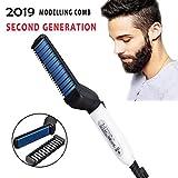 PAGALY E-TRADE Men Beard Straightener Hair Comb Multifunctional Hair Curler Show Cap Tool(hair styler for men)