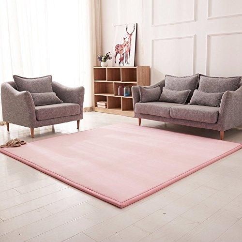 SZT Mats-Living Room Einfache Teppich/Modern Coffee Table Mat/Bedside Teppiche für Schlafzimmer,D,80X200Cm (31X79Inch) (Über Table Living Coffee Room)