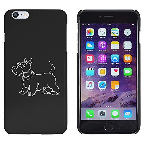 Azeeda Schwarz 'Scottish Terrier' Hülle für iPhone 6 Plus & 6s Plus (MC00154031) -
