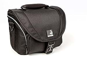 Borsa per macchina fotografica Bodyguard SLR M per il corpo e 2obiettivi per Nikon D800, D3200, D3300, D5100, D5200, D5300, D5500, D7000, D7100, D7200, Canon EOS, 1200D, 1300D, 700D, 750D, 760D