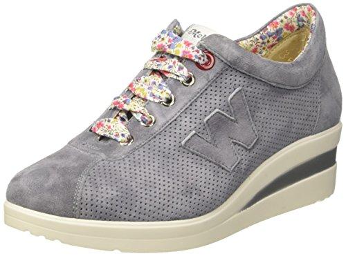 Melluso Damen R20110 Niedrige Sneaker Blu (Jeans)