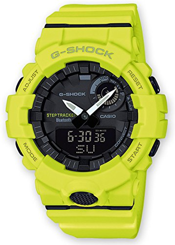 Casio Reloj Digital para Hombre de Cuarzo con Correa en Resina GBA-800-9AER