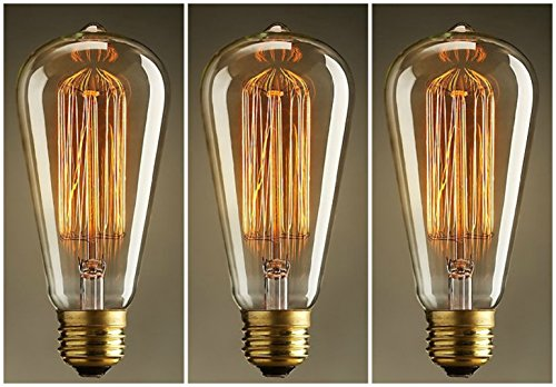 Lampada Vintage Industriale : Lomt lampadario a sospensione in vetro e metallo stile vintage