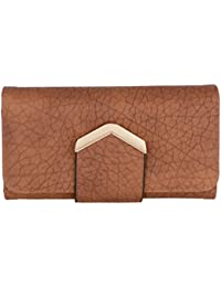 Gio Collection Women's Brown Wallet - B07CPXW2QH