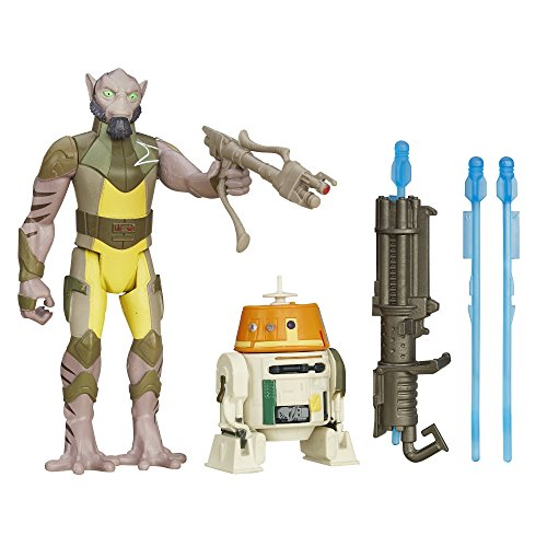 Star Wars Rebels 3.75-inch Forest Mission Garazeb Orrelios And C1-10p Figure thumbnail