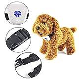 Agumx_pet Anti-Bell-Halsband für Kleine, mittelgroße und große Hunde mit Geräusch-Vibration, für Hunde und Bellen, Kein Schock, harmlos, Anti-Bellen-Geräte