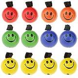 Satz-Von-12-PU-Schwammkugel-Mit-Elastischen-Schnur-Sortierte-Farbe-Hpfenden-Ball